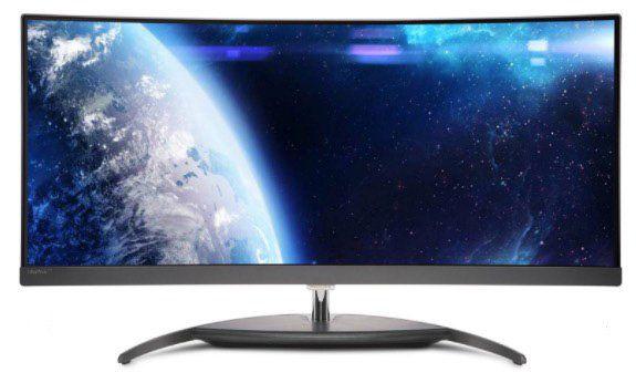 Philips Brilliance BDM3490UC   34 Zoll QHD Curved Monitor für 499€ (statt 665€)