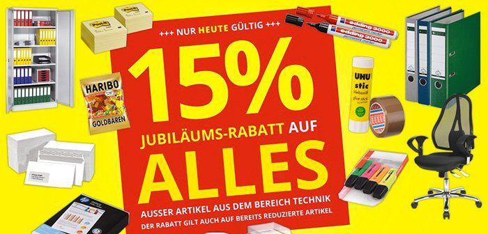 15% Rabatt auf ALLES (außer Technik) bei Printus   z.B. 5.000 Blatt Kopierpapier für 22€