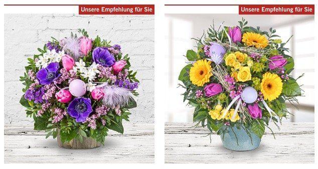 Blumige Ostergrüße jetzt versandkostenfrei bei LIDL Blumen + 20% auf nicht reduzierte Sträuße