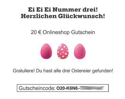 Bis zu 20€ Mömax Gutschein dank Eiersuche   z.B. Relax Hängematte Ciara für 79€