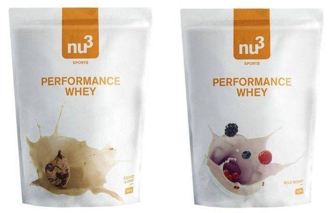 TOP! 3kg NU3 Whey Protein für 19,95€ (statt 45€)   MHD 03/18