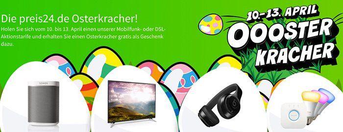 DSL  & Handytarife teilw. mit Cashback bei Preis24 + gratis Beats Kopfhörer