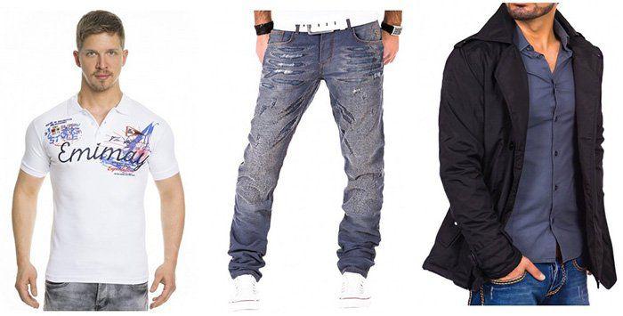 Tazzio Fashion Sale bei Outlet46   z.B. Herren Steppweste für 14,99€ (statt 38€)