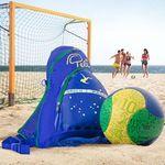 Pelé Beach-Fußball-Set inkl. Rucksack und Ballnetz für 8,94€