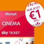 Sky Cinema Ticket bis Ende Juni nur 2€ (statt 30€) – nur Neukunden