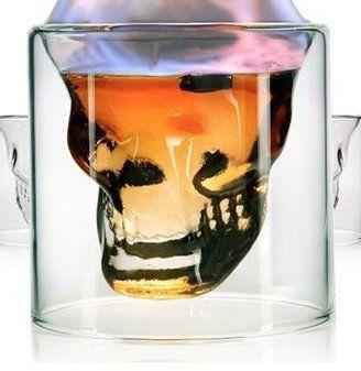Sänger Schnapsglas Set 6 teilig in Totenkopf Optik für 14,99€ (statt 25€)