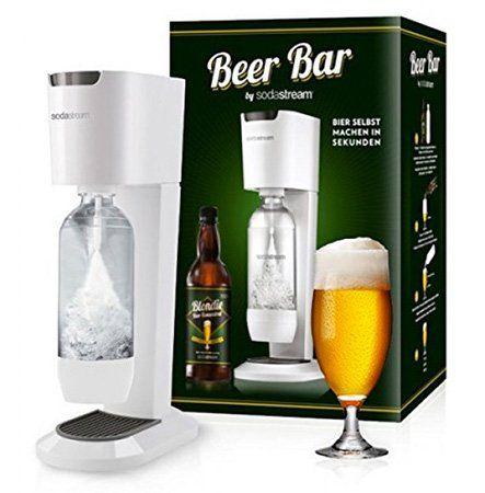SodaStream Genesis Wassersprudler + 1 Liter Bier Sirup (für 3L Pils) für 59,90€ (statt 80€)