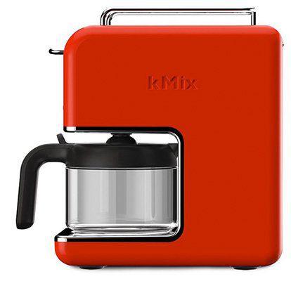 Kenwood kMix Popart CM030 Kaffeemaschine in Rot für 40€ (statt 73€)