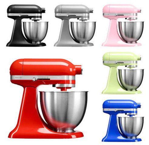 KitchenAid Artisan Mini Küchenmaschine + 3,3 Liter Edelstahlschüssel für 319€ (statt 498€)   refurbished!
