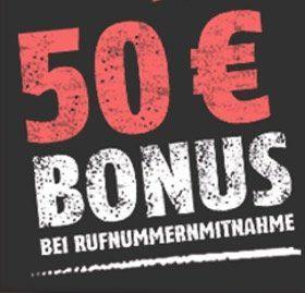 Geht noch! Vodafone Allnet Flat mit 4GB für 14,85€ mtl. + 50€ Guthaben bei Rufnummermitnahme