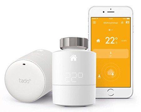 2er Pack tado Heizkörperthermostate mit HomeKit Unterstützung für 129€ (statt 179€)