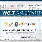 Welt am Sonntag Jahresabo für  218,40€ inkl. 150€ Verrechnungsscheck