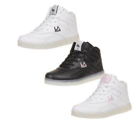 L.A. Gear FLO Lights Kinder und Damen Schuhe mit Leucht Sohle für 29,66€ (statt 44€)