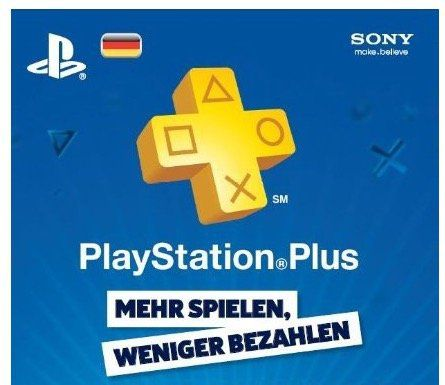 Playstation Network Card Plus 15 Monate für 50,99€