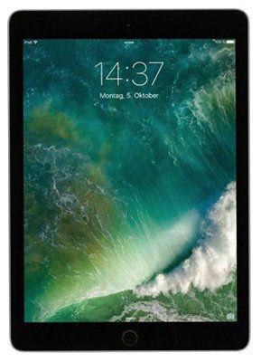 Apple iPad (2017)   9,7 Zoll mit 32GB + WiFi für 341,10€ (statt 378€)
