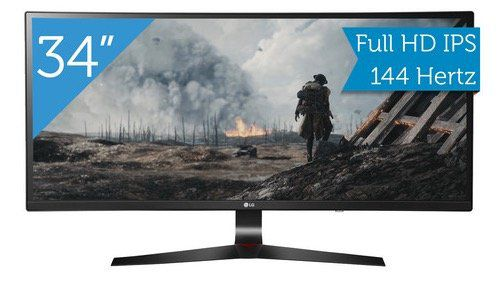 LG 34UC79G   34 Zoll Curved UW Monitor mit 144Hz für 439€ (statt 500€)