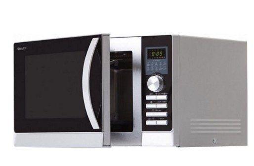 Sharp R843INW Mikrowelle mit Grill  und Heißluftfunktion für 124€ (statt 147€)