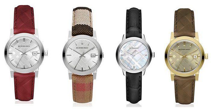 Burberry Uhren Sale bei vente privee   z.B. Burberry City BU9152 Damenuhr für 305,50€ (statt 436€)