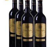 8 Flaschen Casa Safra Rotwein + 4 Schott Zwiesel Weingläser für 49,99€ – goldprämiert!