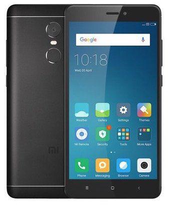 Xiaomi Redmi Note 4   5,5 Zoll Full HD Smartphone schwarz mit voller LTE Unterstützung für 123,35€