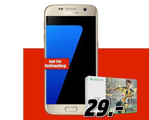 Samsung Galaxy S7 + Xbox One S inkl. Fifa 17 + Vodafone Flat mit 1GB für 27,86€ mtl.