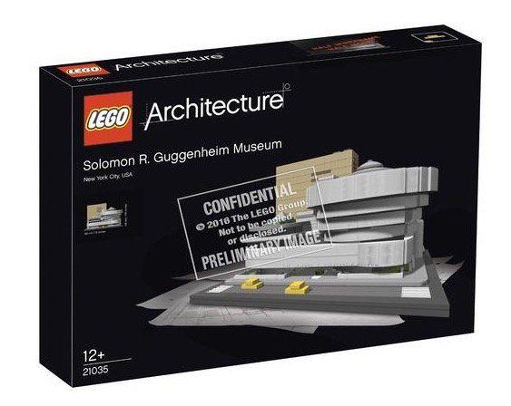 Lego Architecture (21035)   Solomon R. Guggenheim Museum für 50,99€ (statt 59€)