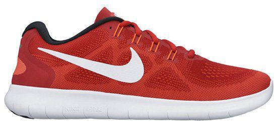 Nike Free Run 2 Herren Laufschuhe in Rot für 88,50€ (statt 110€)