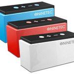 NINETEC SuperSonic Bluetooth Lautsprecher mit FM-Radio für 29,99€ (statt 50€)