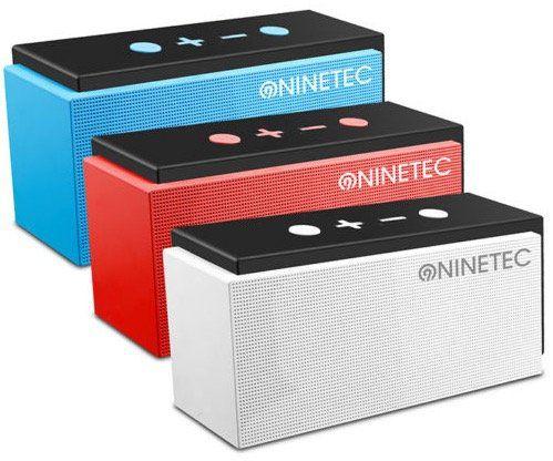 NINETEC SuperSonic Bluetooth Lautsprecher mit FM Radio für 17,77€ (statt 44€)