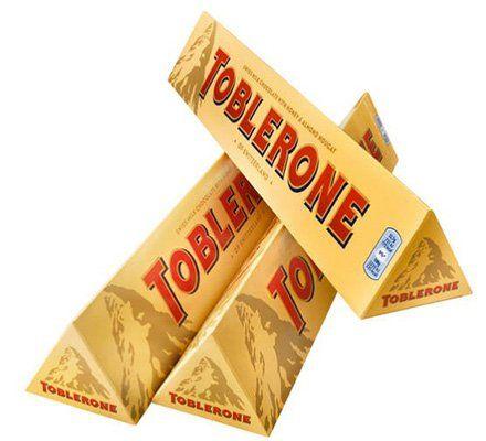 7,56kg Toblerone Original Schokolade für 57,93€   nur 0,76€pro 100g!