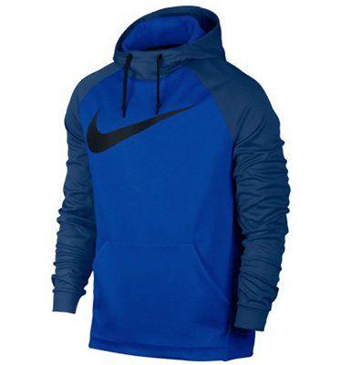 Nike Herren Kapuzenpullover in Blau für 29,99€ (statt 56€)