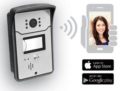 GEV 9875 WiFi Smart Video Türsprechanlage für 124,95€ (statt 152€)