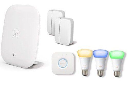 Magenta SmartHome Alarmsystem + Philips Hue + 24 Monate App Lizenz für 259,99€ (statt 296€)