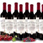 8 Flaschen Château Haut-Pourjac Bordeaux – Rotwein für 39€