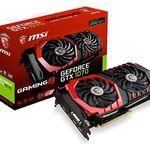 MSI GeForce GTX 1070 Gaming X 8GB für 403,19€ (statt 445€) + 40€ Cashback