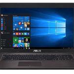 Asus F756UV-TY122T – 17,3 Zoll Notebook mit 128GB SSD + 1TB HDD + Win 10 für 599€ (statt 677€)