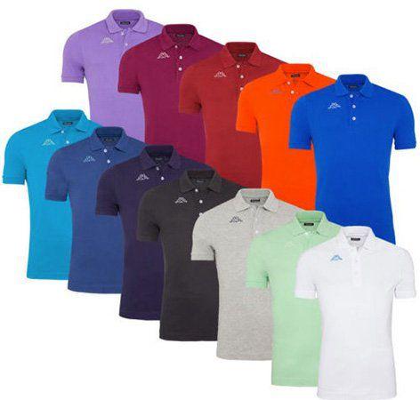 Kappa Herren Kurzarm Poloshirts in Regular Fit für je 9,99€ (statt 15€)