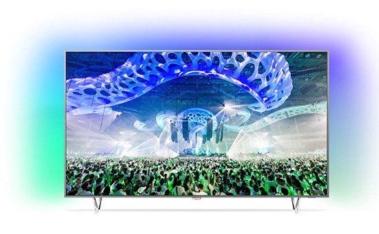 Philips 65PUS7601   65 Zoll 4k Fernseher mit 3 seitigem Ambilight für 1.987,90€ (statt 2.431€)