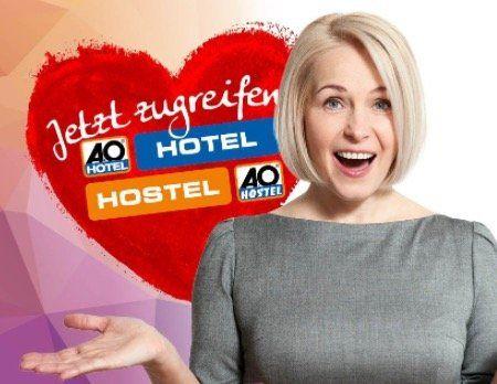 Last Minute Geschenk! A&O Hotelgutschein für 2 Personen (2 Nächte, Frühstück, 2 Kinder kostenlos) für 79€