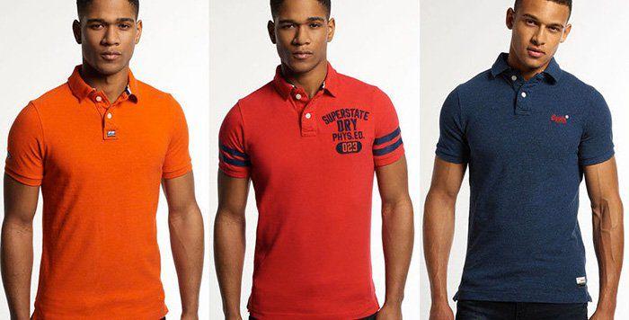 Superdry Herren Poloshirts   verschiedene Modelle für 19,95€