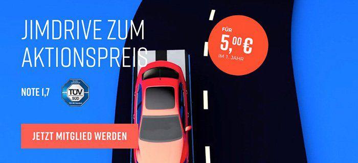 Wieder da! 1 Jahr JimDrive Pannenhilfe (europaweit) für 5€ (statt 50€)