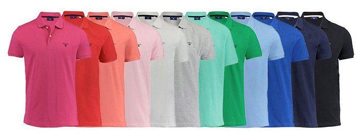 GANT Herren Poloshirts in verschiedenen Farben für 39,86€ (statt 50€)   2 Stück nur 66,82€ (33,41€ pro Stück)