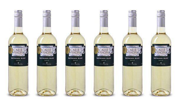 6 Flaschen Calle Principal Sauvignon Blanc Weißwein für 25,89€ (statt 32€)