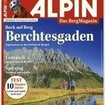 """4 Ausgaben der Zeitschrift """"Alpin"""" für 15,36€ inkl. 15€ Verrechnungsscheck"""