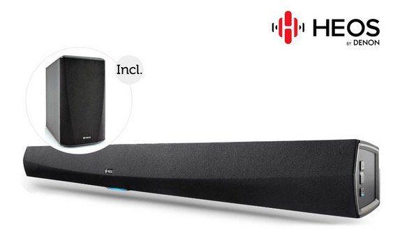 Denon Heos HomeCinema Soundbar + wireless Subwoofer für 408,90€ (statt 491€)