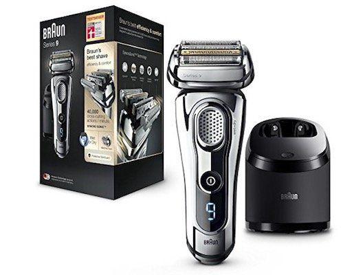 Braun Series 9 9296cc   Elektrischer Rasierer mit Reinigungsstation für 189€ (statt 222€)