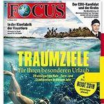 TOP! Focus Halbjahresabo mit 26 Ausgaben für 122,20€ + 100€ Verrechnungsscheck