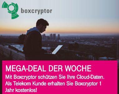 Nur für Telekom Kunden: 12 Monate Boxcryptor kostenlos statt 36€