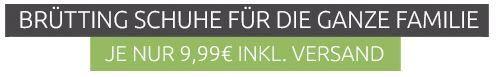Brütting Sneaker für die ganze Familie ab 9,99€