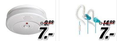 Media Markt Restposten Tiefpreisspätschicht   u.a. Rauchmelder ab 7€ Fernglas ab 10€